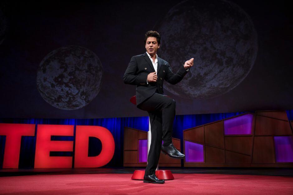 Shah, Shah Rukh Khan, TED, TED Talk, TED 2017, TED talk 2017, Shah Rukh Khan at TED, SRK,