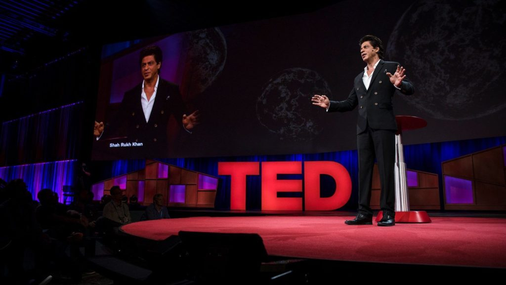 Shah, Shah Rukh Khan, TED, TED Talk, TED 2017, TED talk 2017, Shah Rukh Khan at TED, SRK, love,