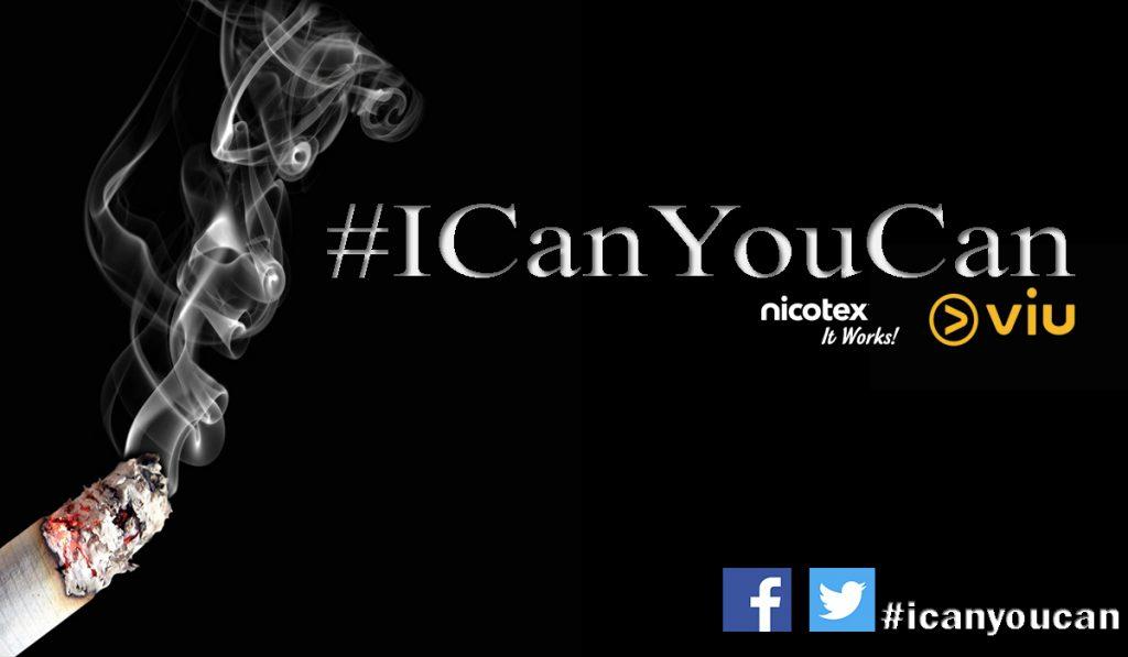 icanyoucan, nicotex, viu, BBC, smoking, quit smoking