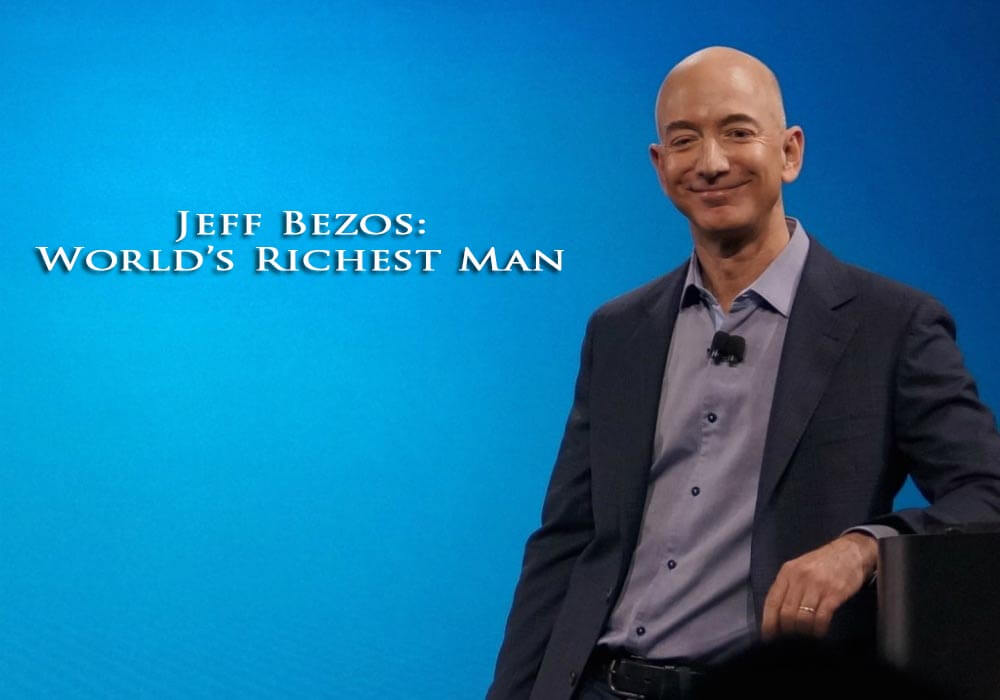 Amazon, Jeff Bezos, Richest Man, Bill Gates