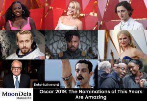 Oscar 2019, Nomination, winners