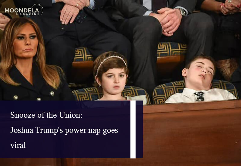 Snooze of the Union: Joshua Trump's power nap goes viral
