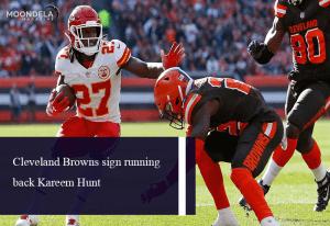Cleveland Browns sign running back Kareem Hunt
