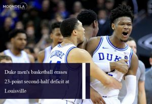 Duke men's basketball erases 23-point second-half deficit at Louisville