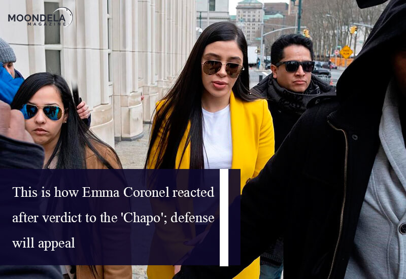 This is how Emma Coronel reacted after verdict to the 'Chapo'; defense will appeal