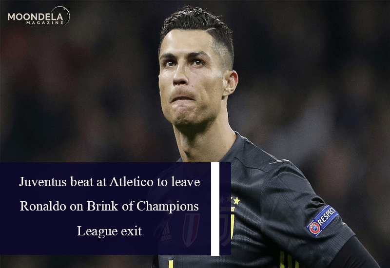 Juventus beat at Atletico to leave Ronaldo on Brink of Champions League exit