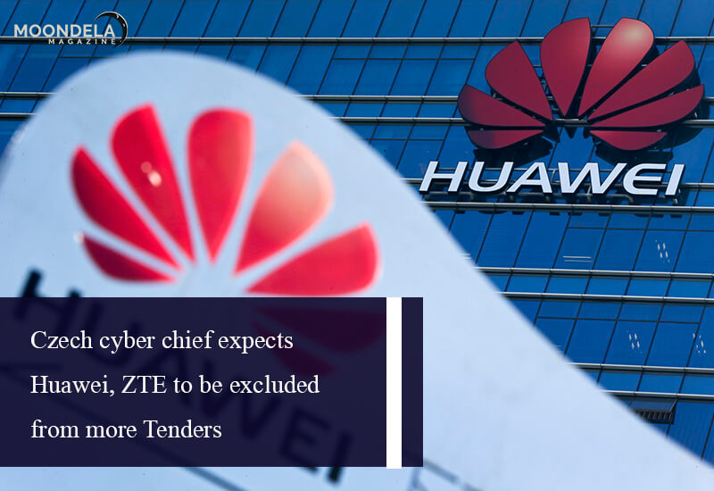 Czech cyber chief expects Huawei, ZTE to be excluded from more tenders