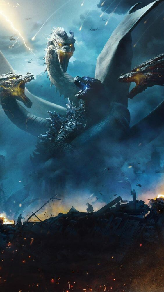 Top 10 best hollywood movie 2019 Godzilla: King of the Monsters