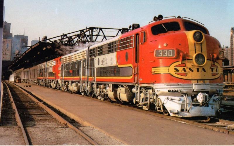 US railway network