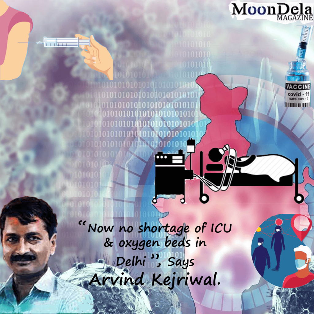 """Now No Shortage Of ICU And Oxygen Beds In Delhi,"""" Says Arvind Kejriwal"""